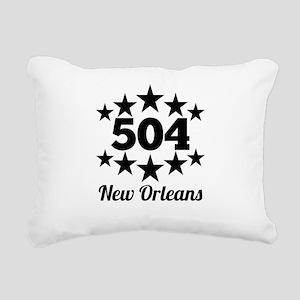 504 New Orleans Rectangular Canvas Pillow