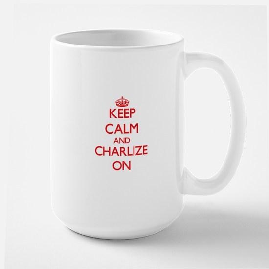 Keep Calm and Charlize ON Mugs