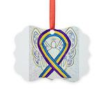 Bladder Cancer Awareness Ribbon Ornament