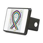 Bladder Cancer Awareness Ribbon Hitch Cover