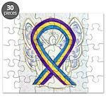 Bladder Cancer Awareness Ribbon Puzzle