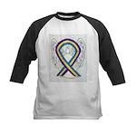 Bladder Cancer Awareness Ribbon Baseball Jersey