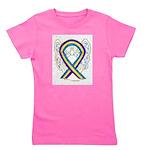 Bladder Cancer Awareness Ribbon Girl's Tee