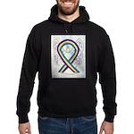 Bladder Cancer Awareness Ribbon Hoodie