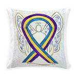 Bladder Cancer Awareness Ribbon Everyday Pillow