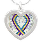 Bladder Cancer Awareness Ribbon Necklaces