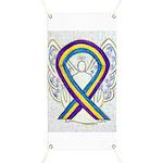 Bladder Cancer Awareness Ribbon Banner