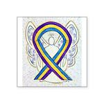 Bladder Cancer Awareness Ribbon Sticker