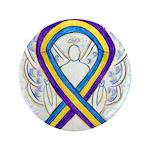 Bladder Cancer Awareness Ribbon Button