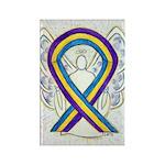 Bladder Cancer Awareness Ribbon Magnets -100 Pack