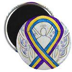 Bladder Cancer Awareness Ribbon Magnets