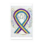 Bladder Cancer Awareness Ribbon Rectangle Car Magn