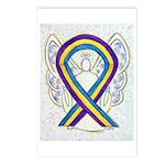 Bladder Cancer Awareness Ribbon Postcards (Package