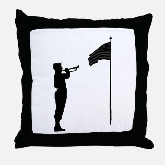 World War 2 Veteran Throw Pillow