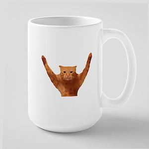 Will Work for PhooD Large Mug