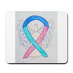 Thyroid Cancer Awareness Ribbon Mousepad