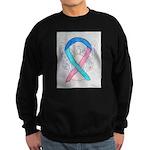 Thyroid Cancer Awareness Ribbon Sweatshirt