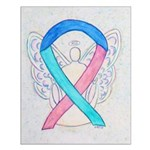Thyroid Cancer Awareness Ribbon Posters