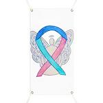 Thyroid Cancer Awareness Ribbon Banner