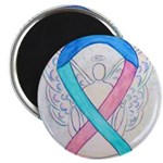 Thyroid Cancer Awareness Ribbon Magnets
