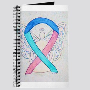 Thyroid Cancer Awareness Ribbon Journal