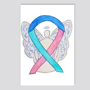 Thyroid Cancer Awareness Ribbon Postcards (Package
