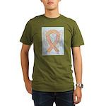 Peach Awareness Ribbon Angel T-Shirt