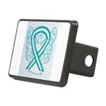 Cervical Cancer Awareness Ribbon Hitch Cover