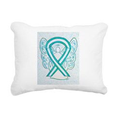 Cervical Cancer Awareness Ribbon Rectangular Canva