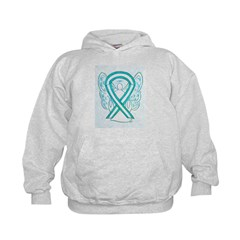 Cervical Cancer Awareness Ribbon Hoodie