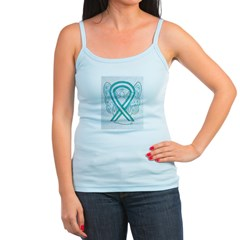Cervical Cancer Awareness Ribbon Tank Top
