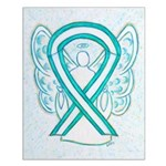Cervical Cancer Awareness Ribbon Posters
