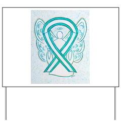 Cervical Cancer Awareness Ribbon Yard Sign