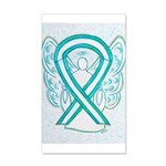 Cervical Cancer Awareness Ribbon Wall Decal
