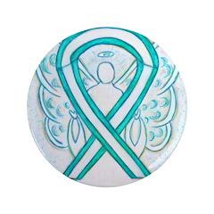 Cervical Cancer Awareness Ribbon 3.5