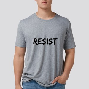 Resist In Black Text T-Shirt