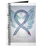 Diabetes Awareness Ribbon Angel Journal