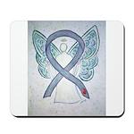 Diabetes Awareness Ribbon Angel Mousepad