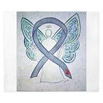 Diabetes Awareness Ribbon Angel King Duvet