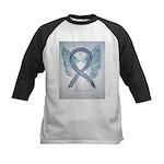 Diabetes Awareness Ribbon Angel Baseball Jersey