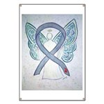 Diabetes Awareness Ribbon Angel Banner