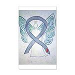 Diabetes Awareness Ribbon Angel Wall Decal