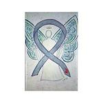 Diabetes Awareness Ribbon Angel Magnets -10 Pk