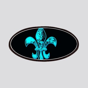 Neon Tuquoise NOLA French Quarter Patch