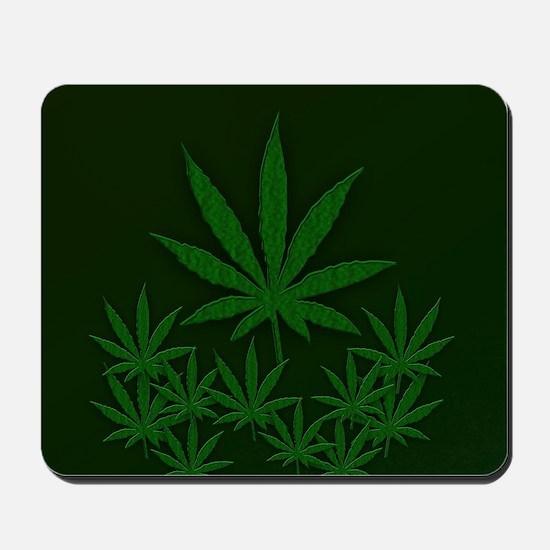 Marijuana / Weed Design Mousepad