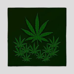 Marijuana / Weed Design Queen Duvet