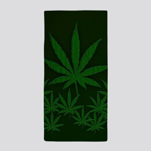 Marijuana / Weed Design Beach Towel