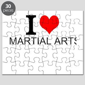 I Love Martial Arts Puzzle