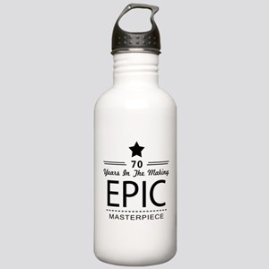 70th Birthday 70 Year Stainless Water Bottle 1.0L