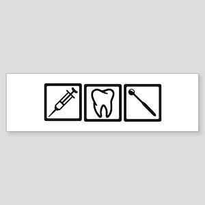 Dentist icons symbols Sticker (Bumper)